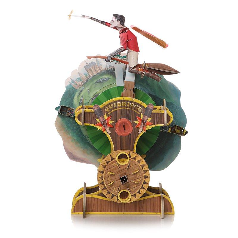 Half Moon Bay Skladačka Harry Potter - Metlobal, pohyblivý mechanický model
