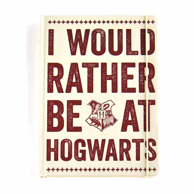 Half Moon Bay Zápisník Harry Potter - Hogwarts Slogan