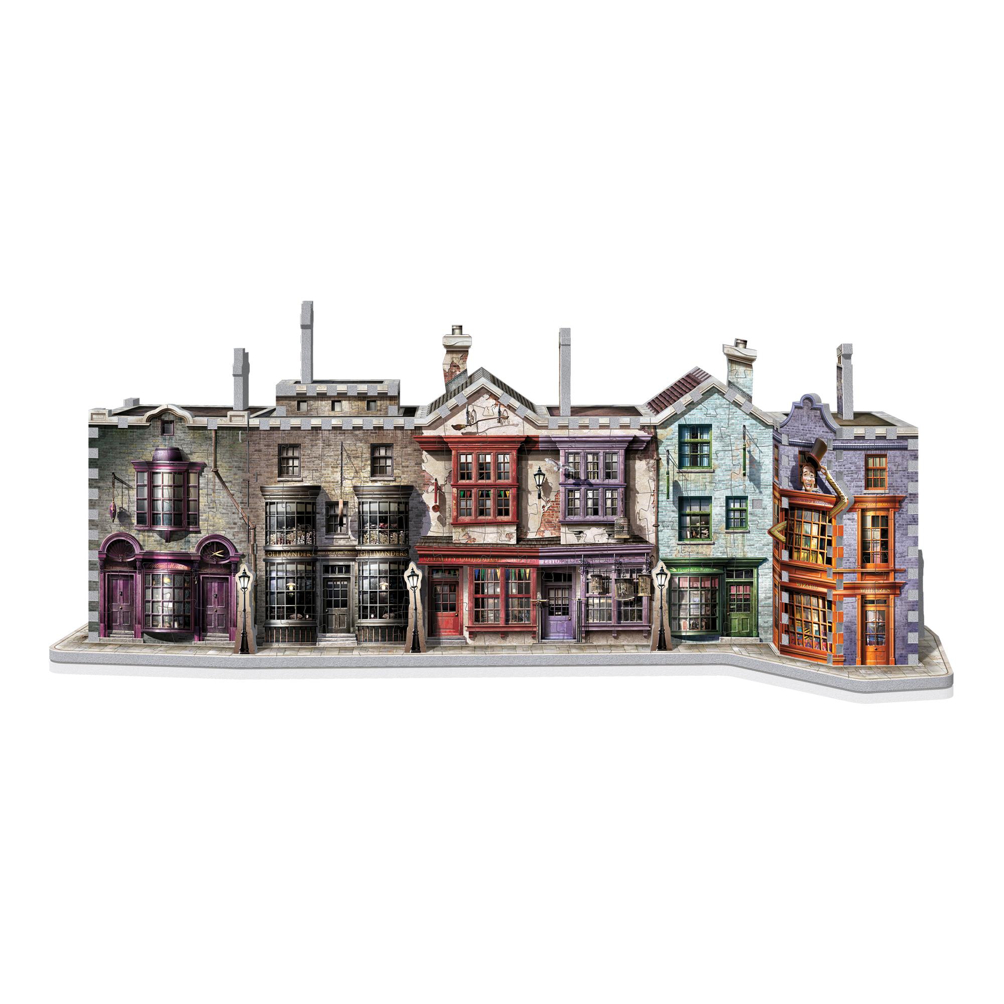 3D Wrebbit Harry Potter 3D Puzzle: Priečna ulica