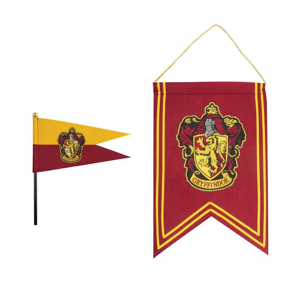 Cinereplicas Sada banner a vlajka Harry Potter - Chrabromil