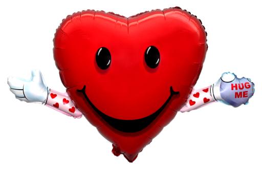 BP Balónik Srdce s rukami