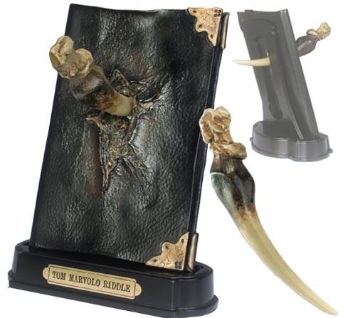 Noble Denník Toma Riddla so zubom baziliška