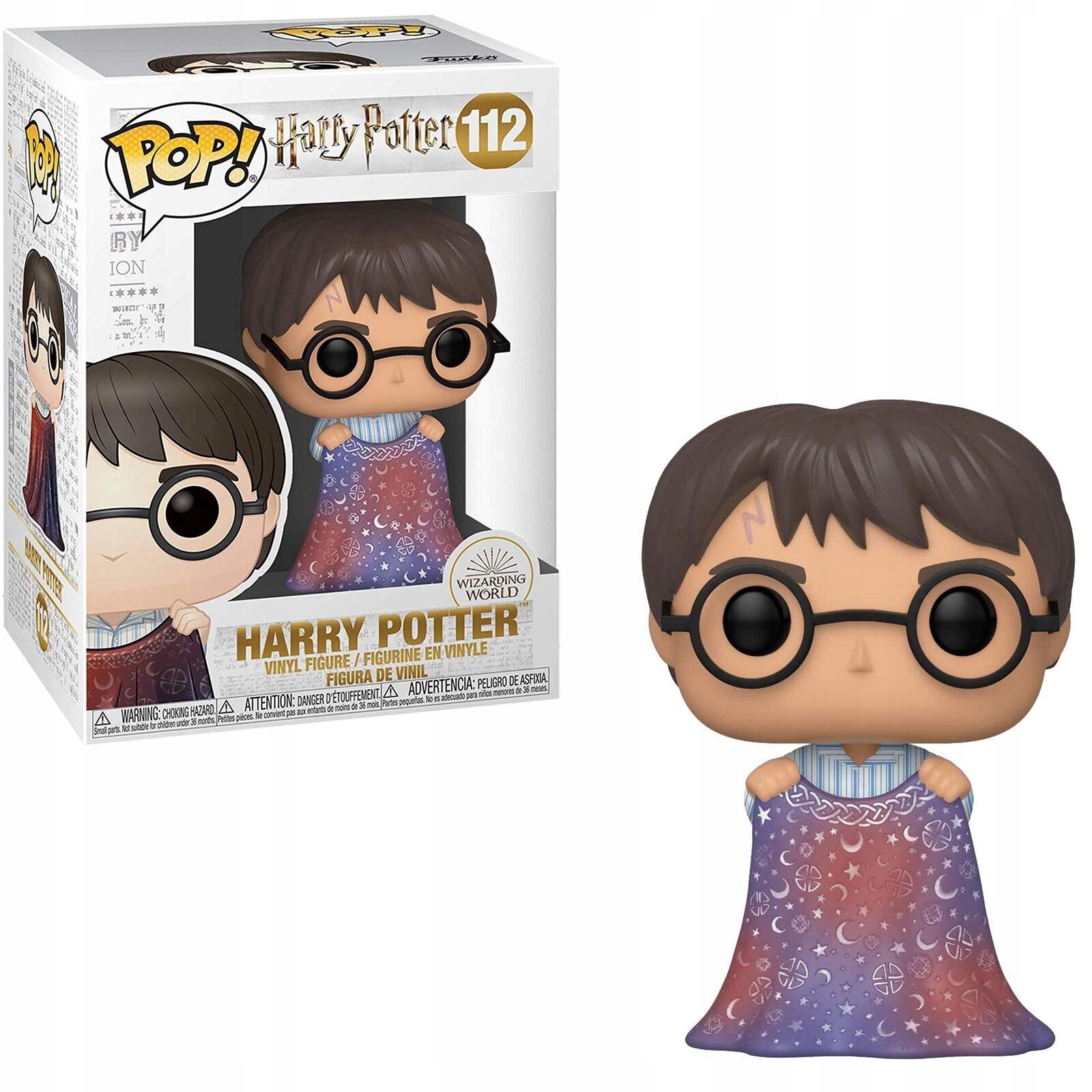 Figúrka Funko POP Vinyl Harry Potter - Harry w/Invisibility Cloak