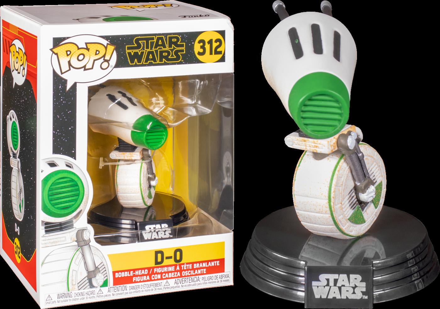 Figúrka Funko POP Star Wars Rise of Skywalker - D-O