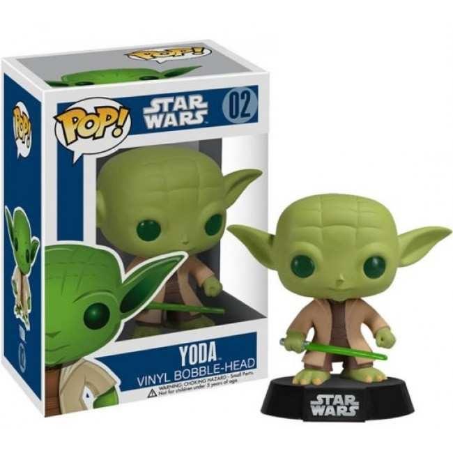 Figúrka Funko POP Bobble Star Wars - Yoda