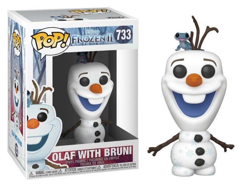 Figúrka Funko POP Disney Frozen 2 - Olaf w/Bruni