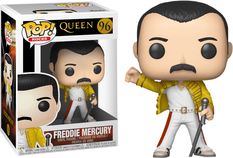 Figúrka Funko POP Rocks Queen - FreddyMercuryWembley1986