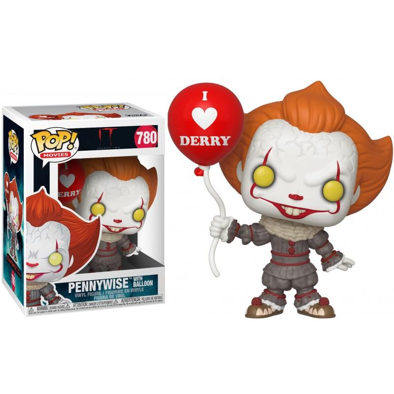 Figúrka Funko POP Movies IT Chapter 2 - Pennywise with/Balloon