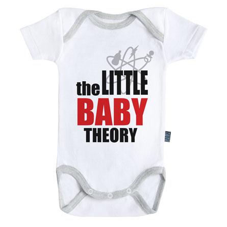 Baby-Geek Detské body - The little baby theory Veľkosť najmenší: 3 - 6 mesiacov