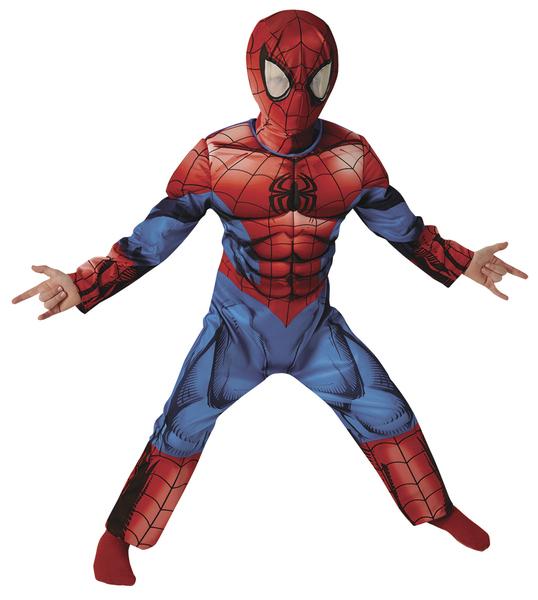 Rubies Spiderman Deluxe - detský Veľkosť: L