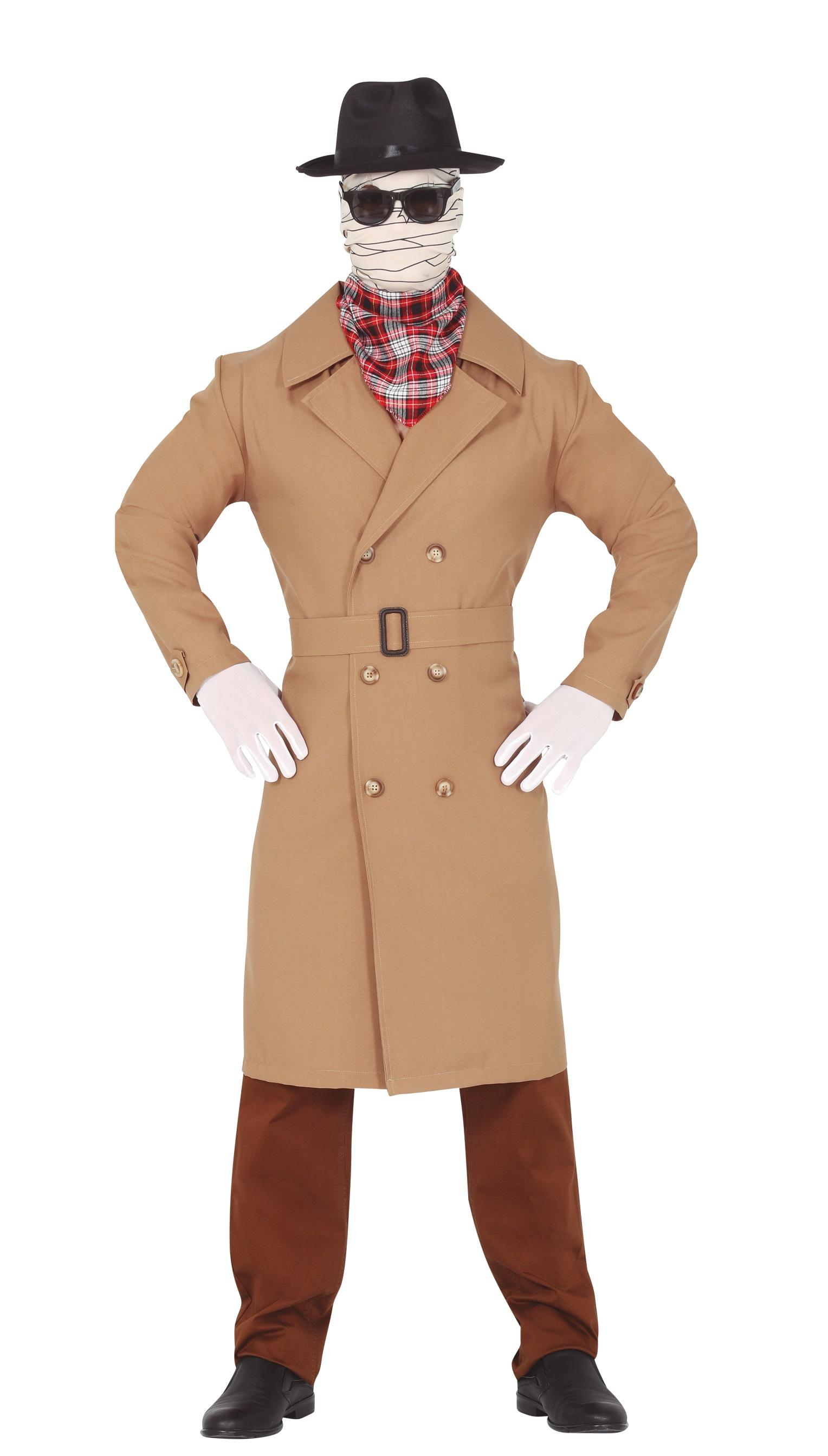 Guirca Pánsky kostým - The Invisible Man Veľkosť - dospelý: M