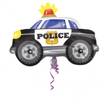 Amscan Fóliový balón policajné auto 60 x 45 cm