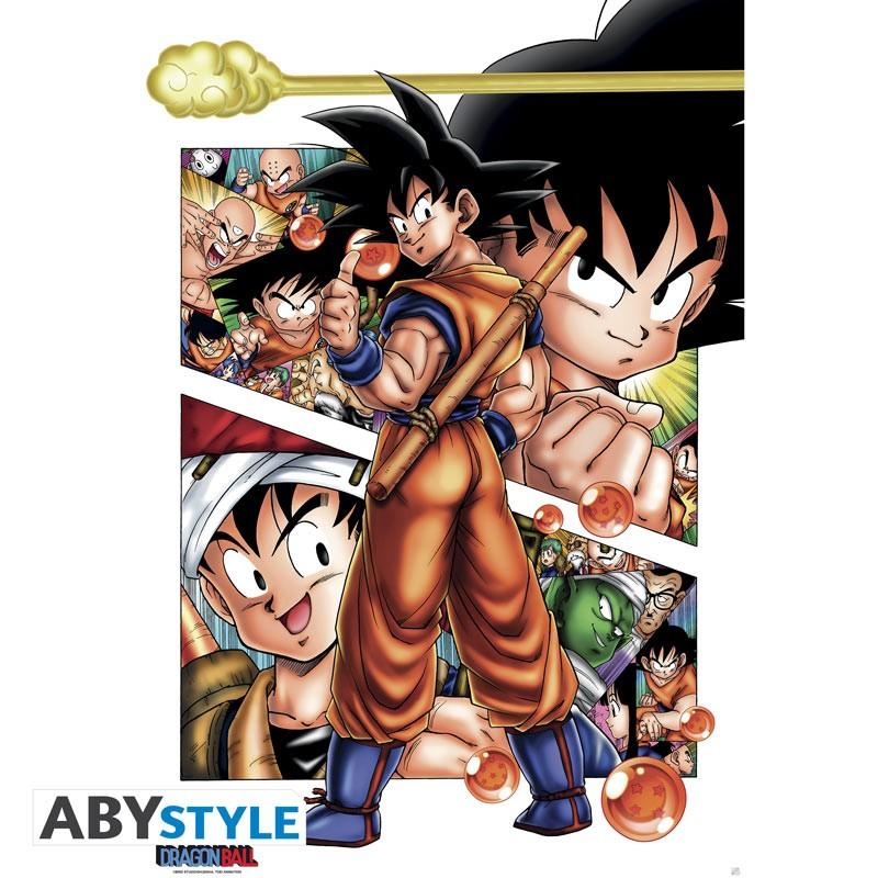 ABY style Plagát - Son Goku 91,5 x 61 cm