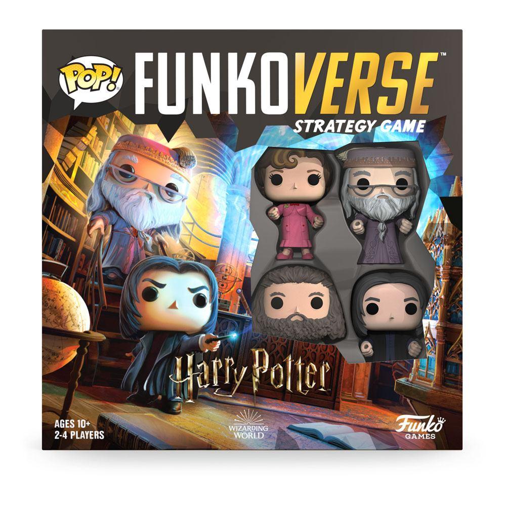 Funko Strategická spoločenská hra Funkoverse - Harry Potter Base set (anglická verzia)