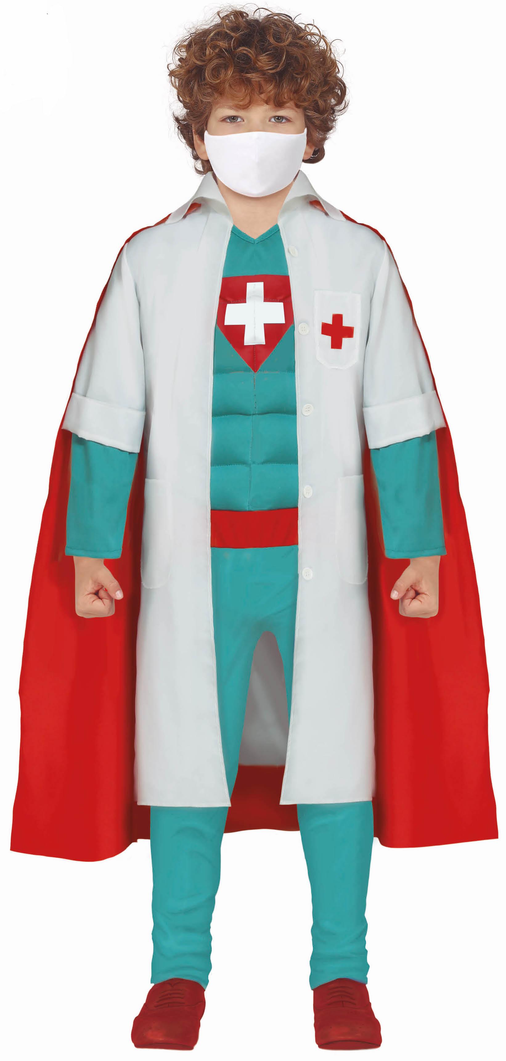 Guirca Detský kostým - Superhrdina doktor Veľkosť - deti: S
