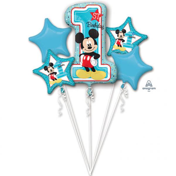 Amscan Kytica balónov - 1. narodeniny Mickey
