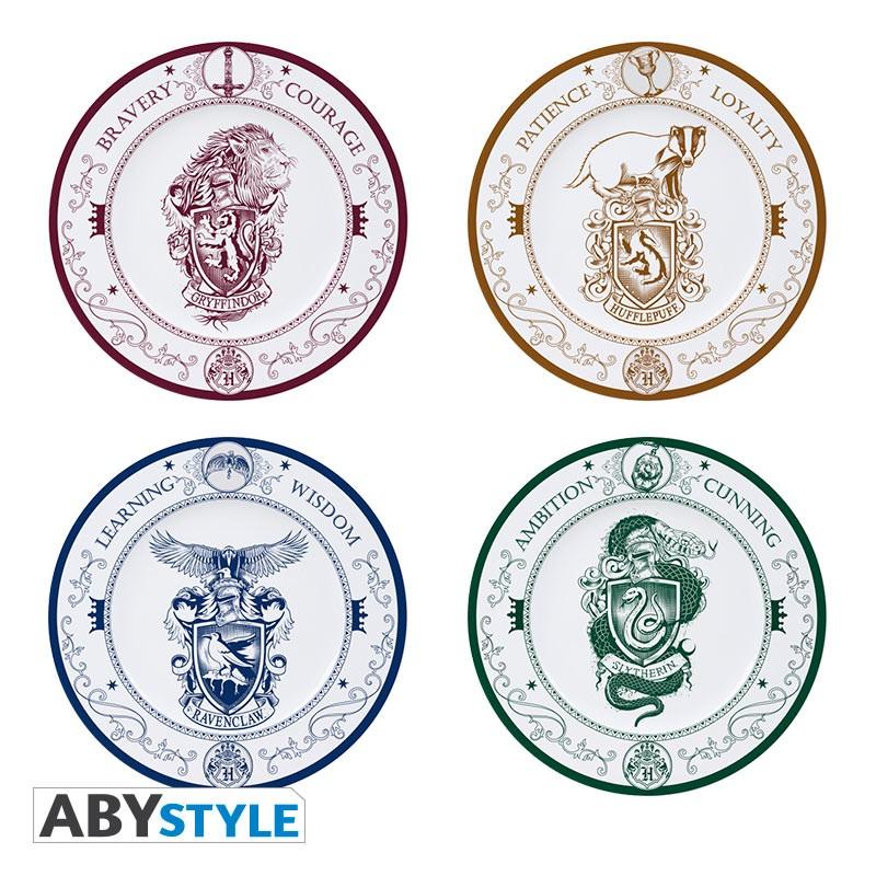 ABY style Sada 4 ks tanierov Rokfortské fakulty - Harry Potter