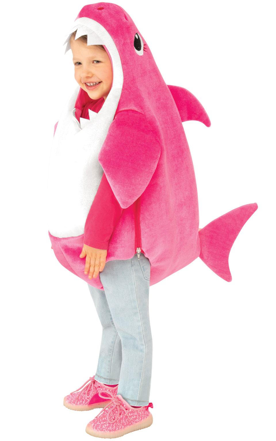 Rubies Detský kostým Baby Shark - ružový Veľkosť - deti: XS