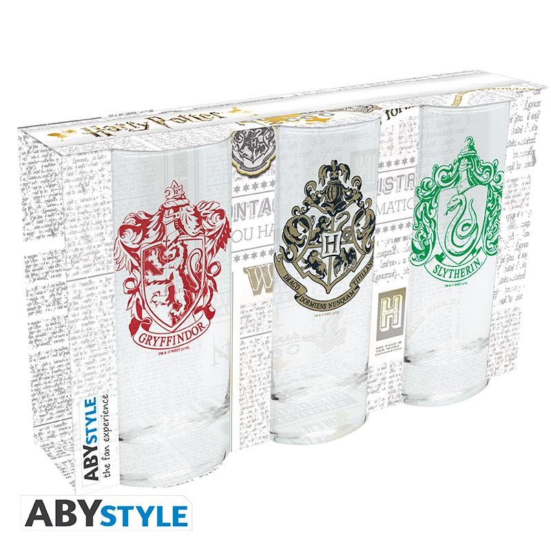 ABY style Sada 3 pohárov - Harry Potter