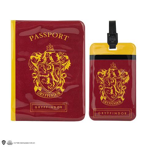 Distrineo Obal na pas a štítok na batožinu Harry Potter - Chrabromil