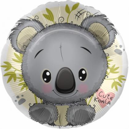 BP Fóliový balón - Koala 45 cm (okrúhly)