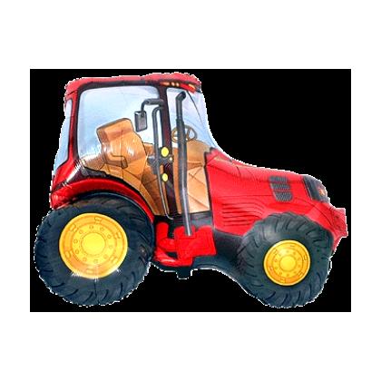 BP Fóliový balón - Červený traktor 60 cm