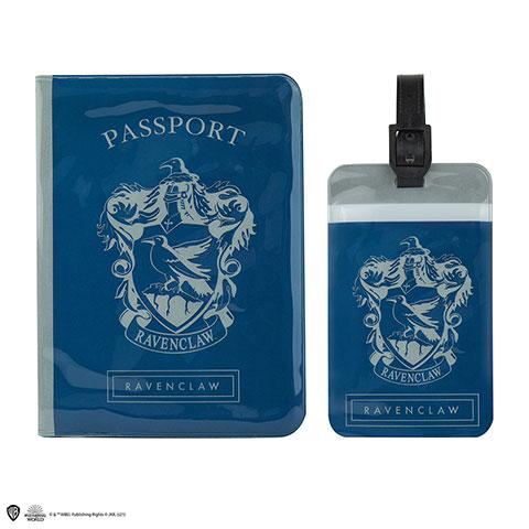 Distrineo Obal na pas a štítok na batožinu Harry Potter - Ravenclaw/Bystrohlav