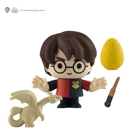 Distrineo Mini figúrka Harry, drak a vajce - Harry Potter