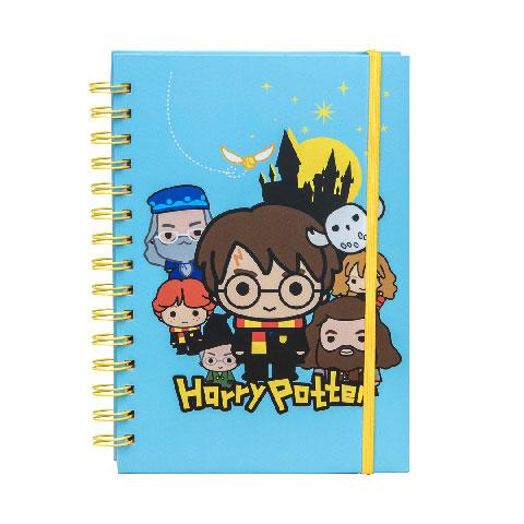 Distrineo Zápisník Harry Potter Kawaii - modrý
