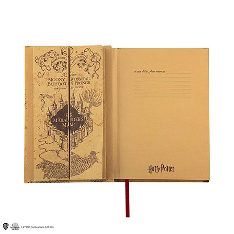 Distrineo Zápisník a mapa Harry Potter - Záškodnícka Mapa