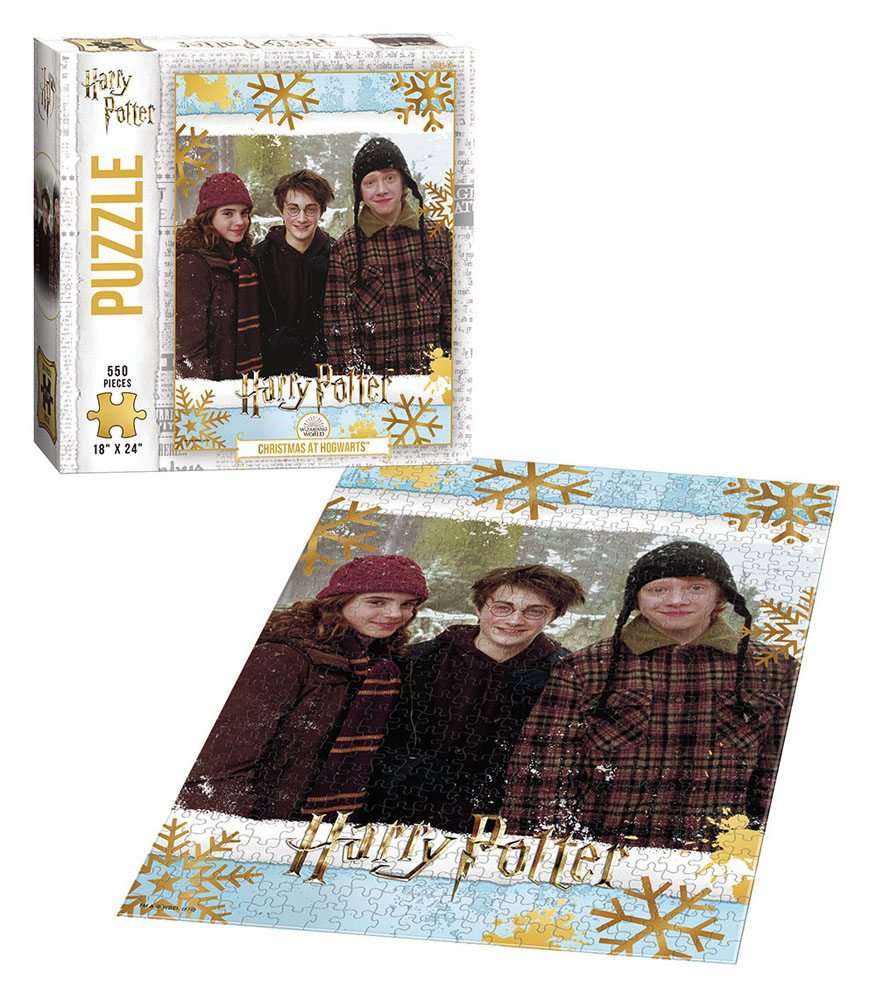 Puzzle Harry Potter - Vianoce v Rokforte