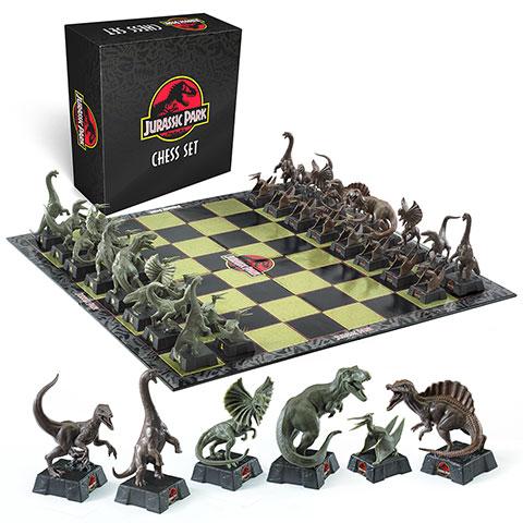 Noble Šachová sada - Jurský Park