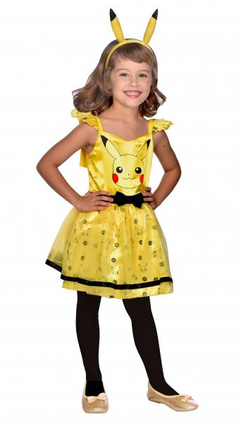 Amscan Detský kostým - Pikachu šaty Veľkosť - deti: M