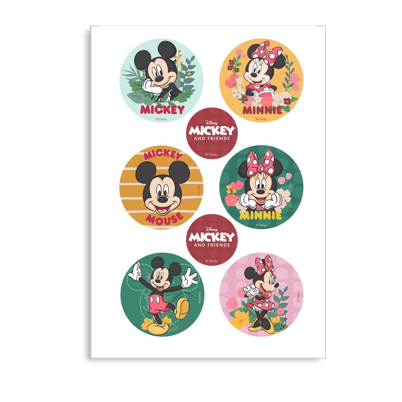 Dekora Mix jedlých obrázkov - Mickey a Minnie Mouse