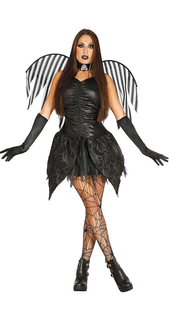 15410fb6e0ad Guirca Kostým Čierny Anjel Veľkosť - dospelý  M