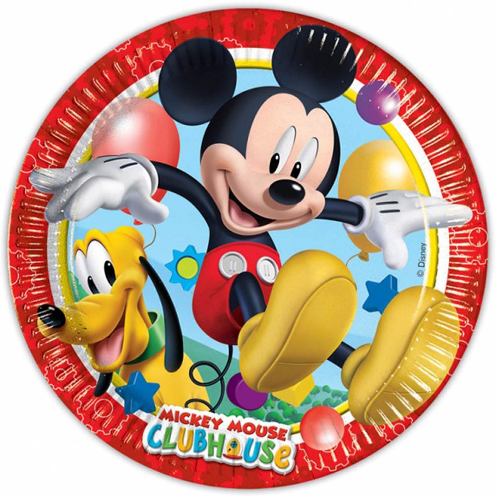 Procos Taniere párty Mickey 8 ks