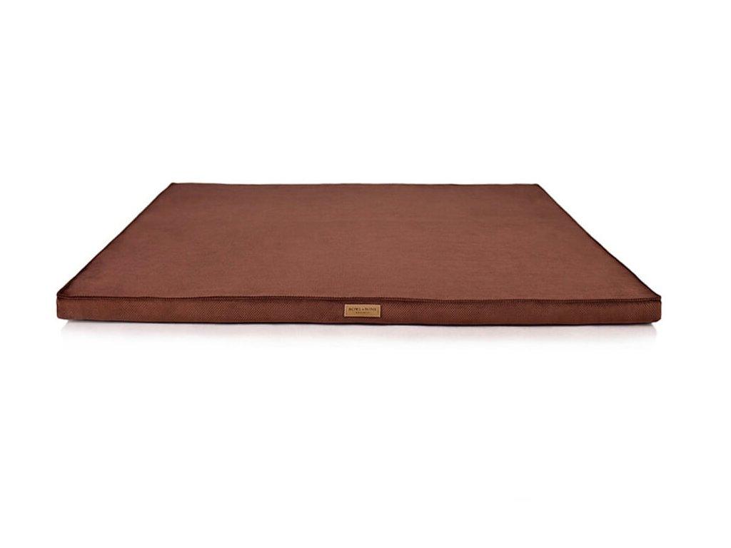 luxusni matrace pro psa chill hneda
