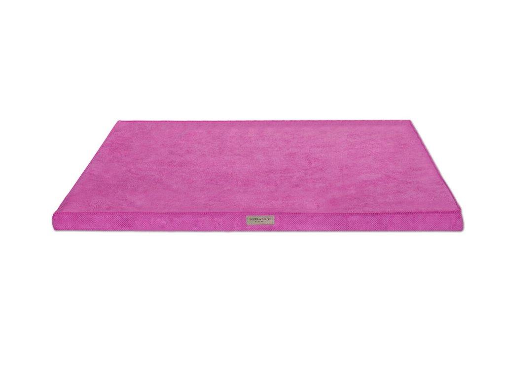 luxusni matrace pro psa chill ruzova