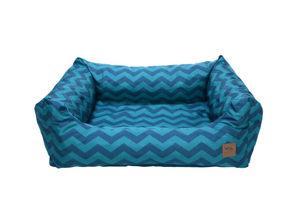 luxusni designovy pelisek pro psa Zigzag Marine