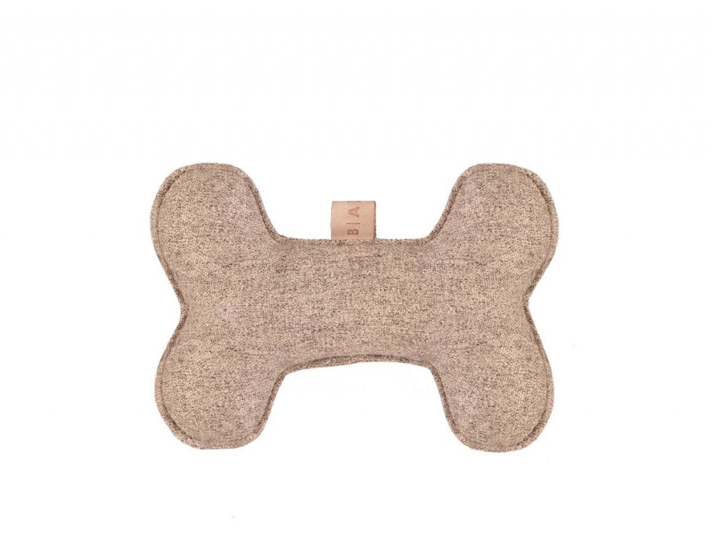 hracka pro psa kost bezova
