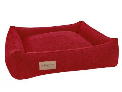 luxusni pelisek pro psa urban bb cerveny