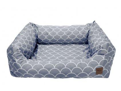 luxusni pelisek bedpet grey shell