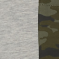 931 šedá melange camouflage