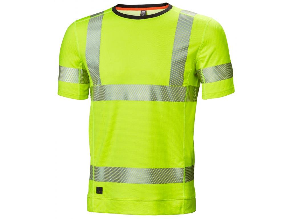 Reflexní spodní tričko s krátkým rukávem HH LIFA ACTIVE Helly Hansen