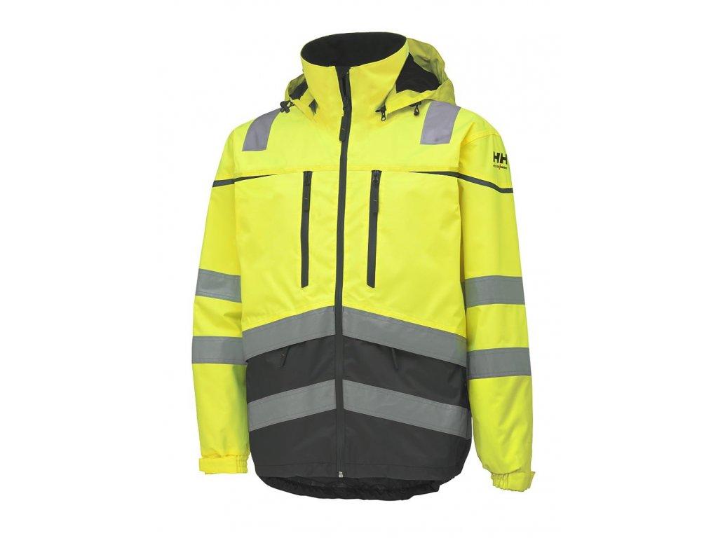 Reflexní bunda TOENSBERG - žlutá
