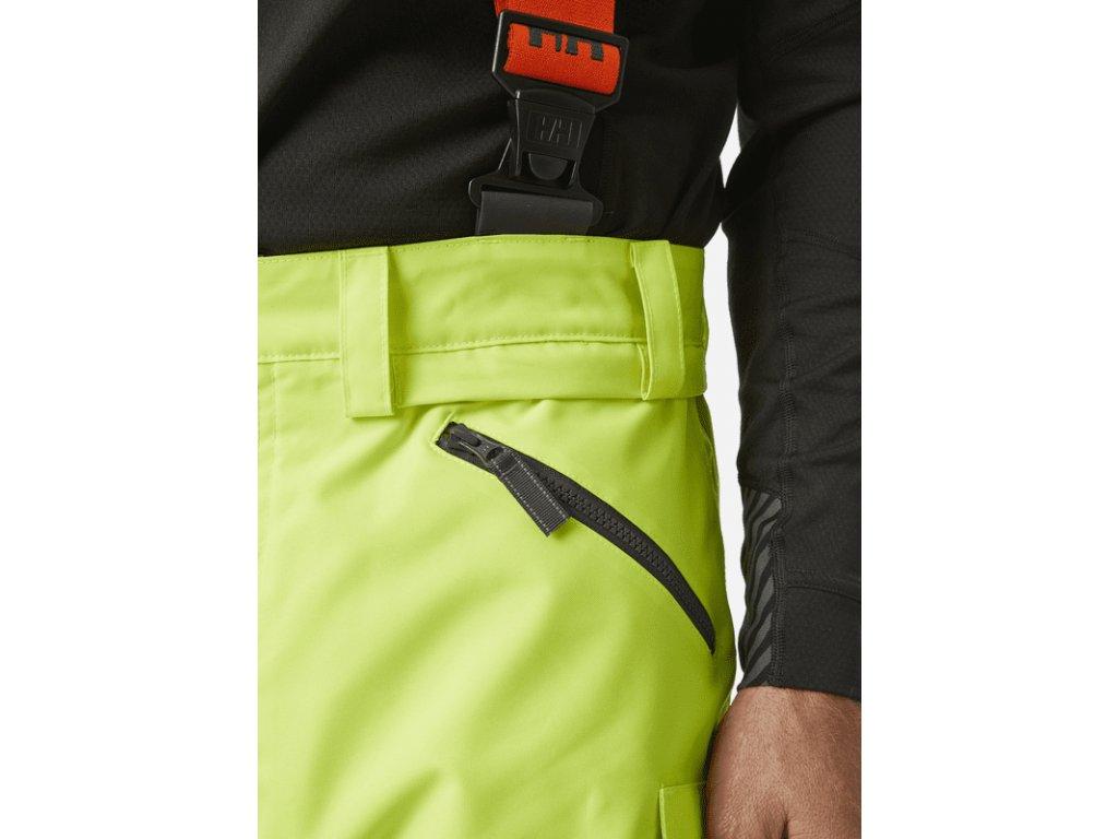 Reflexní zimní kalhoty Helly Hansen ALNA CL2