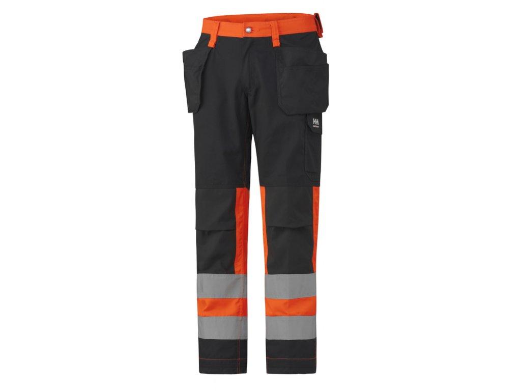 Reflexní řemeslnické kalhoty Helly Hansen ALTA CL1