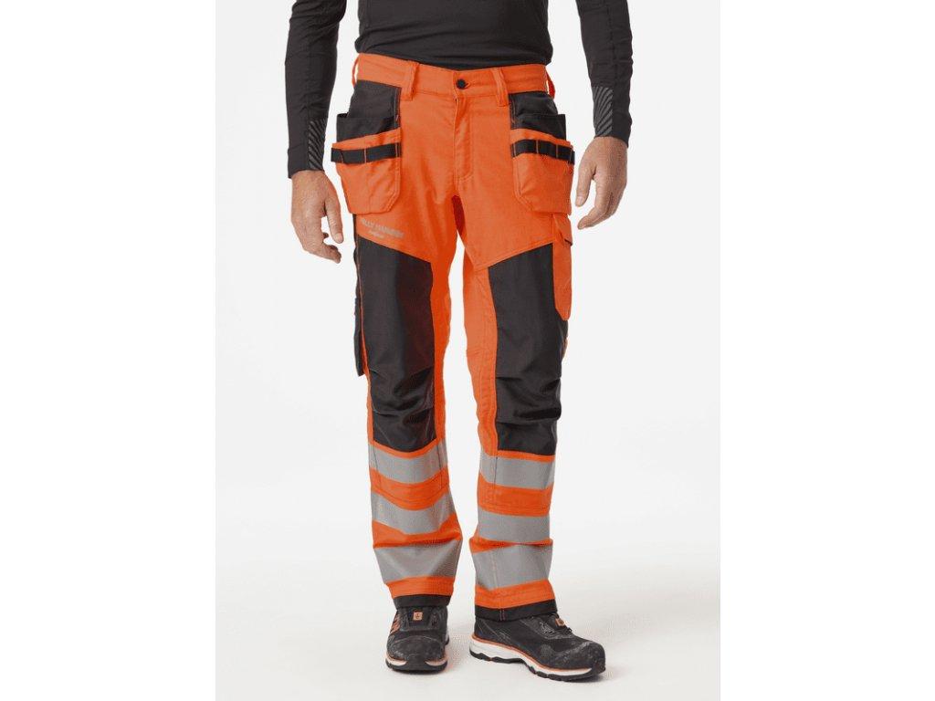 Reflexní řemeslnické kalhoty ALNA 2.0 CL2 Helly Hansen 1/7