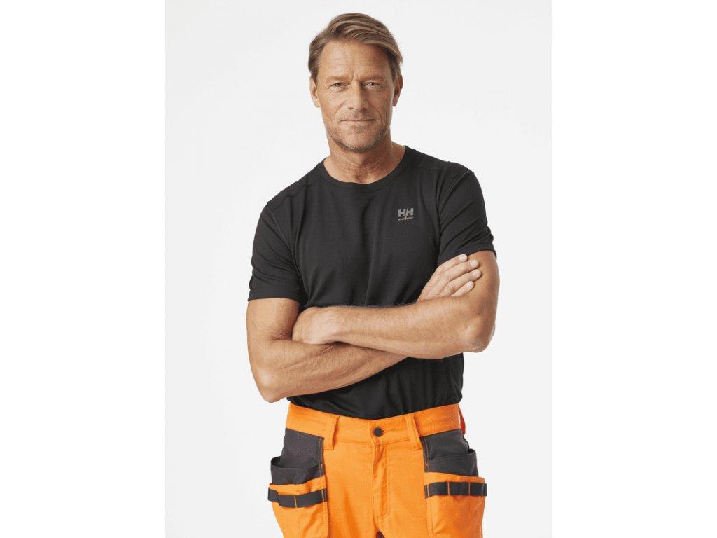 Funkční tričko s krátkým rukávem HH LIFA ACTIVE Helly Hansen 2/4