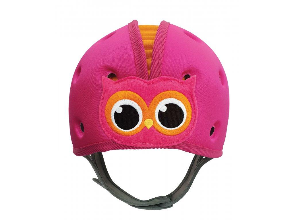 Pink Owl cap front